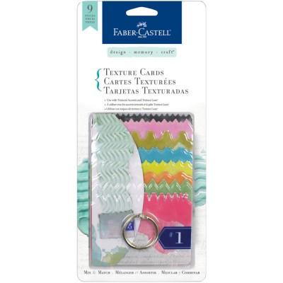 Cartes de texture Faber-Castell