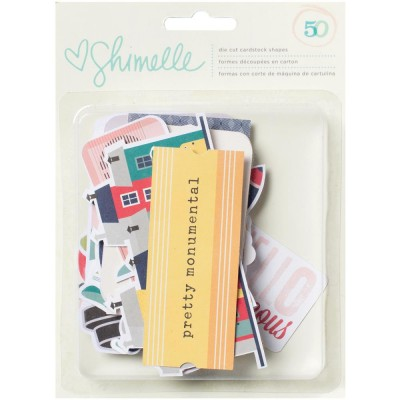Die Cuts - Shimelle True Stories - Ephemera Shapes & Icons