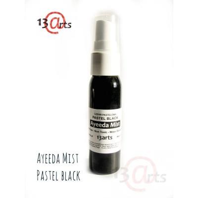 Ayeeda Pastel Mist - Black