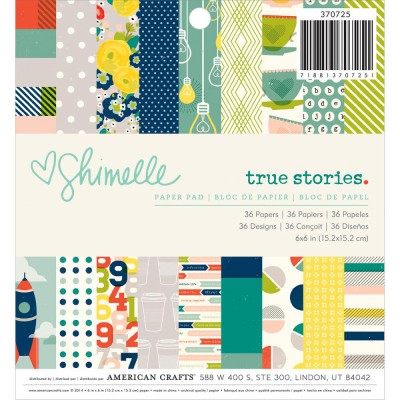 Mini Pack 15x15 - American Crafts - Shimelle True Stories