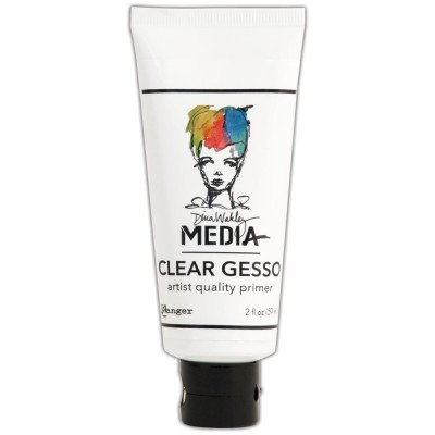 Gesso clear (transparent) Dina Wakley 59 mL (tube)