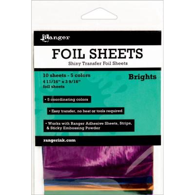 Foil Sheets Ranger - Feuilles transfert métallisées - Brights