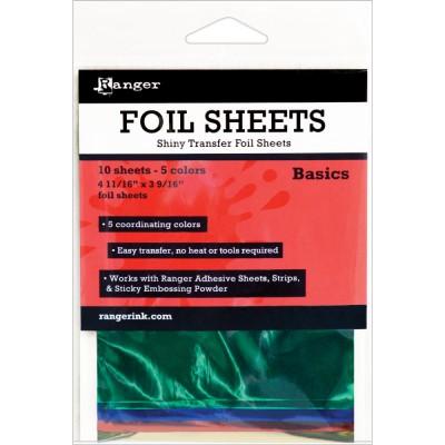 Foil Sheets Ranger - Feuilles transfert métallisées - Basics