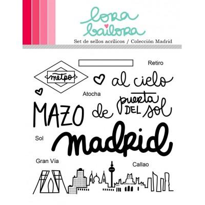 Tampons clear Lora Bailora - Madrid