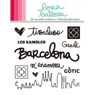 Tampons clear Lora Bailora - Barcelona