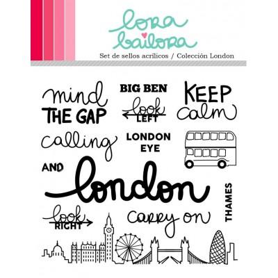 Tampons clear Lora Bailora - London