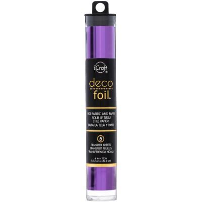 Deco Foil - Feuilles transfert métallisées - Violet