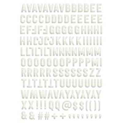 Alphabet Puffy Evalicious - Gold Mini Dots