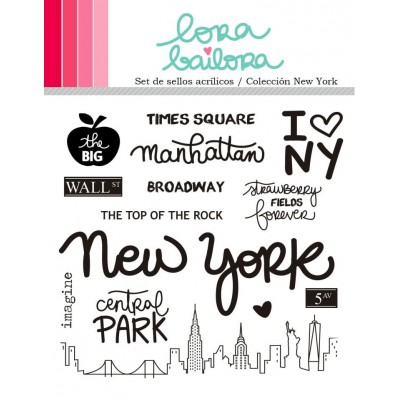 Tampons clear Lora Bailora - New York