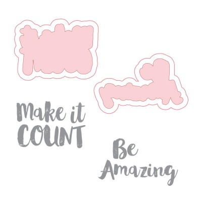 Dies & Tampons Richard Garay - Make Amazing Happen, Be Amazing