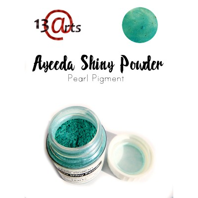 Ayeeda Shiny Powder - Green Blue