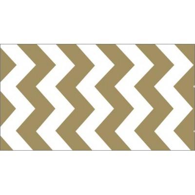 Foil Tape - Gold Chevron