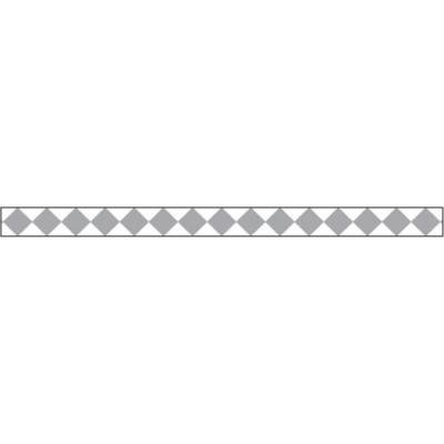 Foil Tape - Silver Harlequin 3 mm