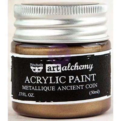 Peinture Art-Alchemy - Metallique Ancient Coin