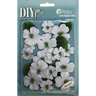 Fleurs Dogwood Blossoms - Blanches