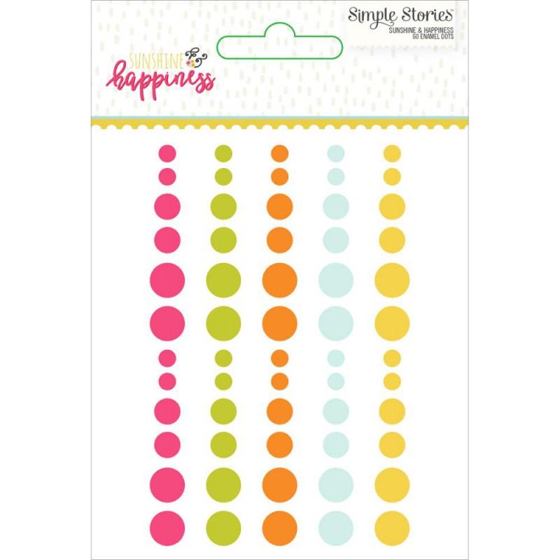 Enamel Dots - Sunshine & Happiness