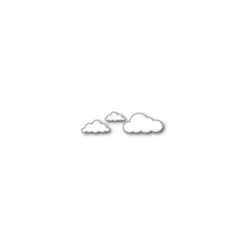 Die Memory Box - Stitched Cloud Trio