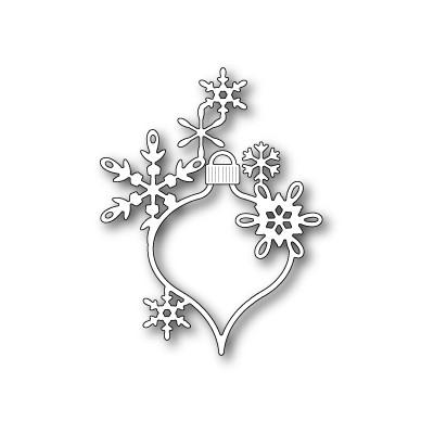 Die Poppystamps - Lavinia Snowflake Ornament