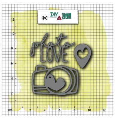 Dies DIY&Cie - Photo Love