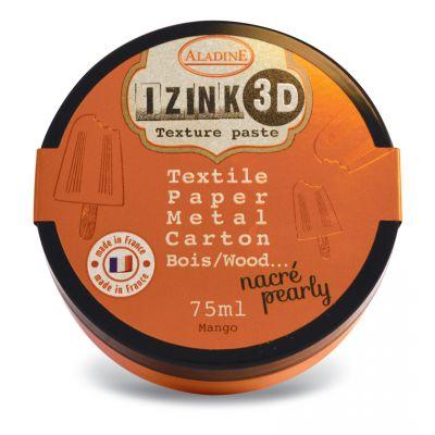 Pâte de texture Izink 3D - Nacrée - Mango