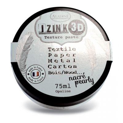 Pâte de texture Izink 3D - Nacrée - Opaline