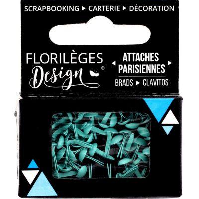 Mini Brads - Attaches Parisiennes - Florilèges - Céladon