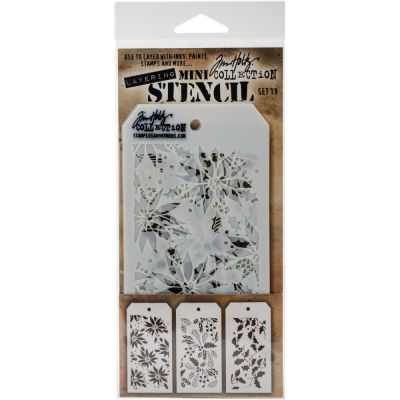 Mini Layered Stencil Tim Holtz - Set 19