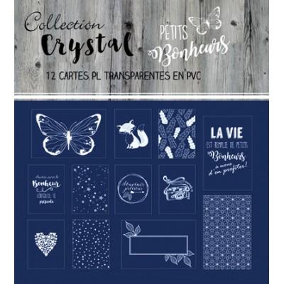 Cartes PL Crystal (overlays) - Petits Bonheurs
