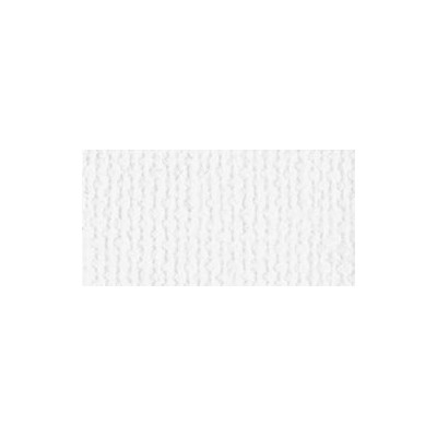 Bazzill A4 White - Texture Canvas