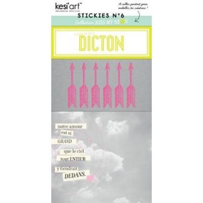 Stickies Kiss My Neon N°6