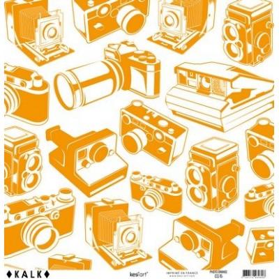 Papier KALK - Photo Orange