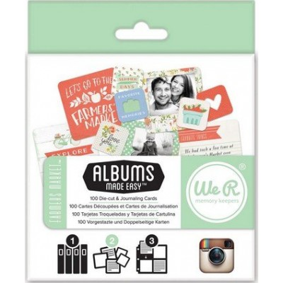 Cartes Albums Made Easy - Format Instagram - Farmers Market