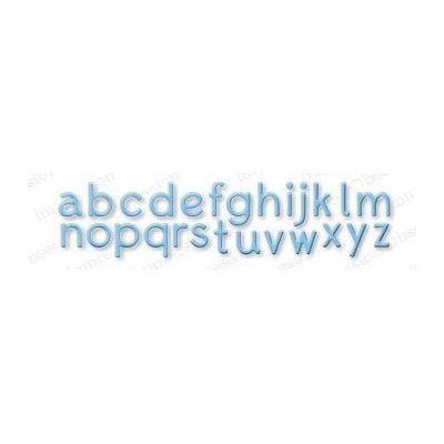 Die Impression Obsession - Alphabet Plain LC
