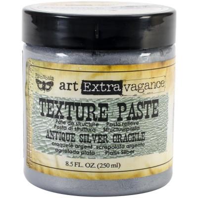 Pâte de structure - Texture paste - Antique Silver Crackle (250 mL)