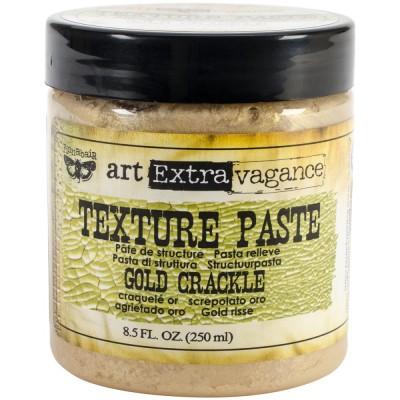 Pâte de structure - Texture paste - Gold Crackle (250 mL)