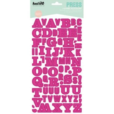 Alphabet Press Kesi'Art - Fuschia