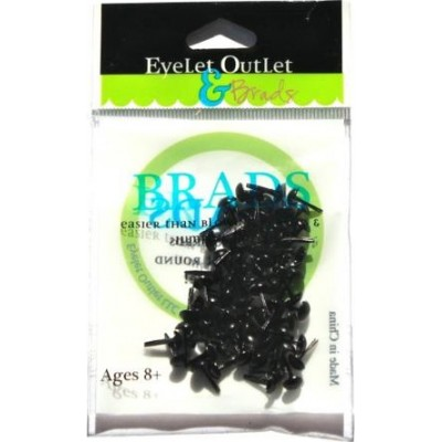 Brads Eyelet Outlet 4 mm - Black (70)