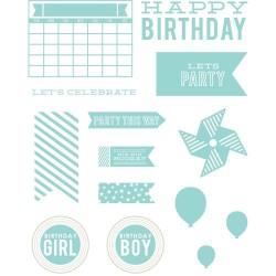 Plaques pour Letterpress - Party