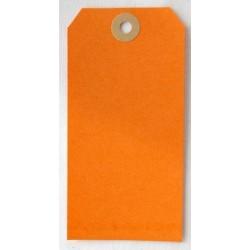 Etiquettes américaines 6x12 cm - Orange (Lot de 10)