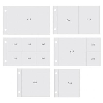 "Pochettes Sn@p 4x6"" - Assortiment Horizontal"