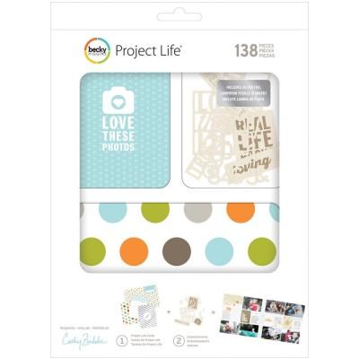 Kit Cartes & Embellissements Project Life - Cathy Zielske
