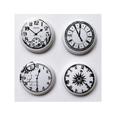 """Badges Lime Citron 1"""" - Horloges"""