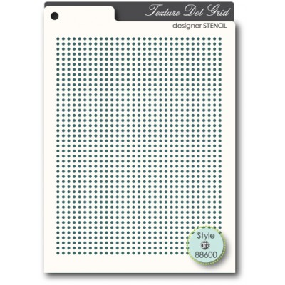 Pochoir MemoryBox - Dot Grid