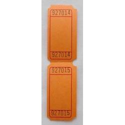 Tickets numérotés (10 pièces)