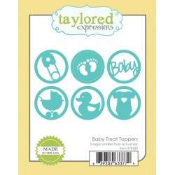 Die Taylored Expressions - Baby Treat Toppers