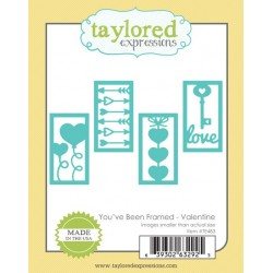Die Taylored Expressions - You've Been Framed - Valentine