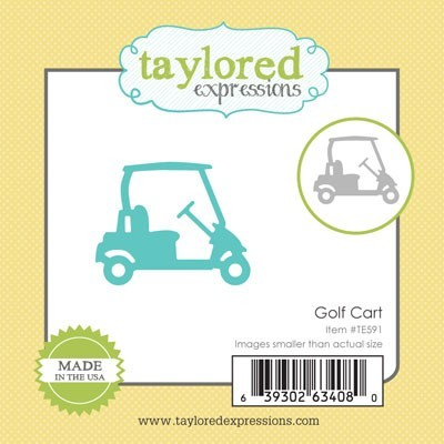 Die Taylored Expressions - Golf Cart