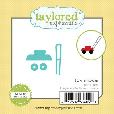Die Taylored Expressions - Lawnmower