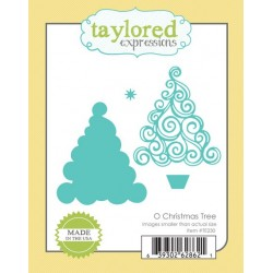 Die Taylored Expressions - O Christmas Tree