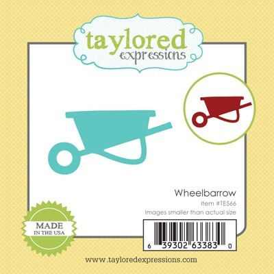 Die Taylored Expressions - Wheelbarrow